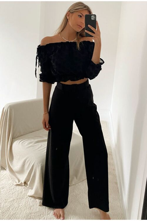 ONNO BELTED TROUSERS