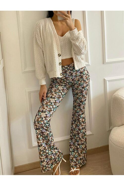 Flora flaired pants