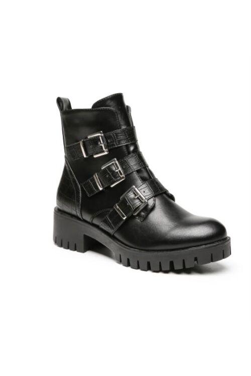 Boots gesp black milou