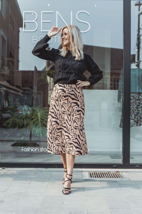Skirt zebra print