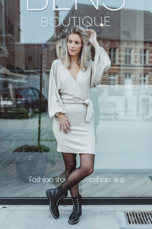 Shannon knitted dress