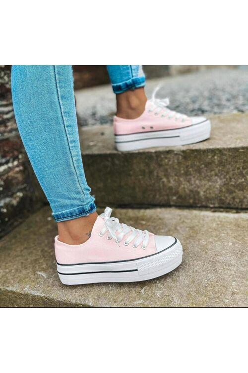 C. Inspired Platform sneaker