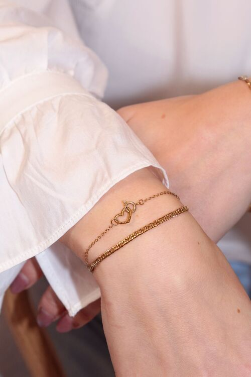 Armbanden set hartje