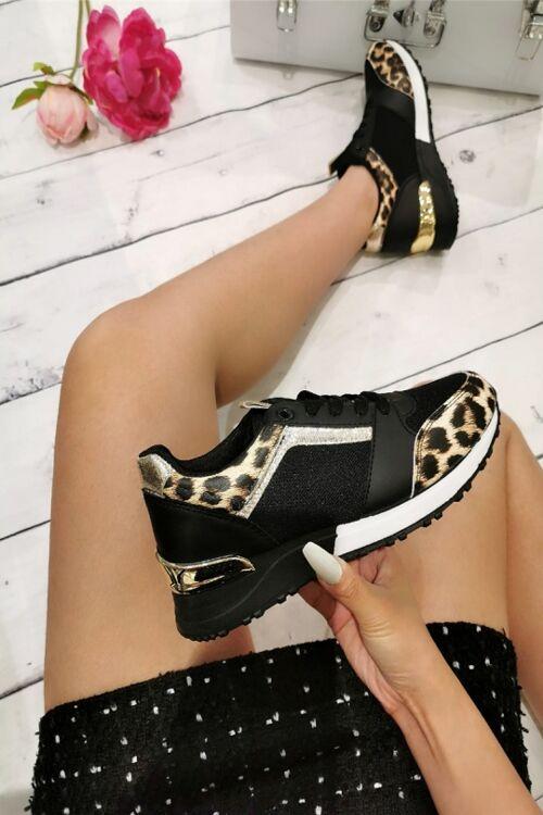 Sneaker tiger black