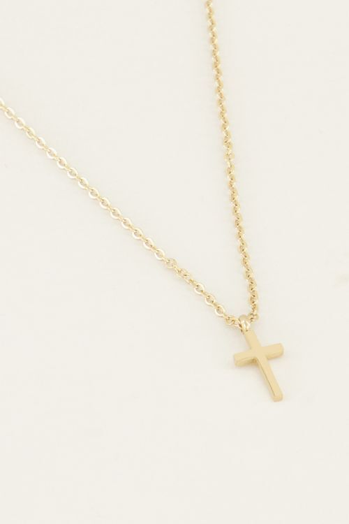 Necklace small cross