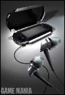 PSP Playgear Headphones Stealth product image
