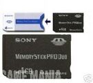 PSP Memory Stick Pro Duo 4 GB + Duo Adaptor - Sony product image