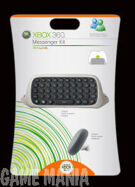 Xbox 360 Messenger Kit QWERTY White product image
