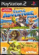 Dreamworks Triple Adventure Pack - Over The Hedge/Shrek 2/Madagascar product image