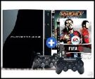 PS3 (40GB) + Ratchet & Clank Tools of Destruction + FIFA 08 + SIXAXIS product image