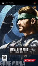 Metal Gear Solid Portable Ops + product image
