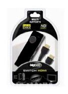 Switch for 3 HDMI Cables + 1 M Cable product image