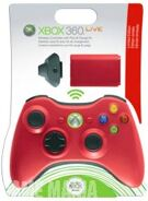 Controller Wireless Red + Play & Charge Kit Red product image