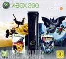 XBOX 360 Elite Black (120GB) + Pure + Lego Batman - The Videogame product image