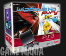 PS3 (250GB) + Wipeout HD Fury + Dual Shock 3 product image