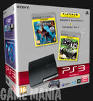 PS3 (320GB) + Uncharted 2 - Among Thieves + Colin McRae - DIRT 2 product image