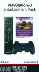 Entertainment Pack (Dual Shock 3 + Blu-ray Remote + PSN Card 20 EUR) product image