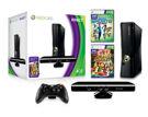 XBOX 360 S Black (4GB) + Kinect Sensor + Kinect Adventures product image