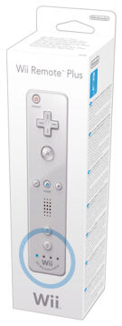 Wii Remote Plus White (Old) product image