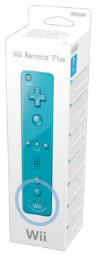 Wii Remote Plus Blue (Old) product image