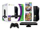 XBOX 360 S Black (4GB) + Kinect Sensor + Kinect Adventures + Joy Ride product image