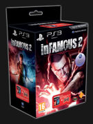 inFAMOUS 2 + Dual Shock 3 SIXAXIS Transparant Red product image