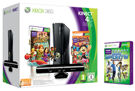 XBOX 360 S Black (4GB) + Kinect + Adventures + Carnival Games Token product image