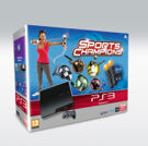 PS3 (160GB) + 2 Move Controllers + Eyecam + Sports Champions product image