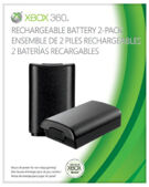 Rechargeable Battery 2-Pack Xbox 360 - Black product image