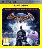 Batman - Arkham Asylum Game of the Year Edition - Platinum product image