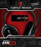 Turtle Beach Ear Force PX21 Headset product image