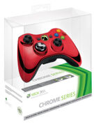 Controller Wireless Chrome Red New product image