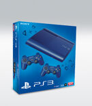 PS3 (12GB) New Blue + 2 DualShock 3 Blue product image
