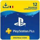 PlayStation Plus 12 maanden - PSN PlayStation Network Kaart (België) product image