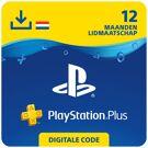 PlayStation Plus 12 maanden - PSN PlayStation Network Kaart (Nederland) product image