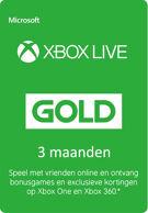 Xbox Live Gold - 3 maanden product image