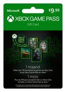 Xbox Game Pass 1 Maand (België) product image
