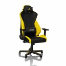 Nitro Concepts S300 Gaming Chair - Black & Yellow product image