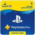 PlayStation Plus 1 maand - PSN PlayStation Network Kaart (Nederland) product image