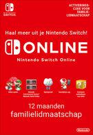 365 Days Switch Online Family Membership - Nintendo Switch eShop product image