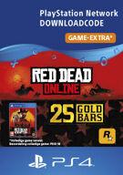 Red Dead Online 25 Gold Bars - PlayStation Network (België) product image