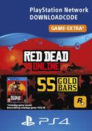 Red Dead Online 55 Gold Bars - PlayStation Network (België) product image
