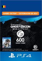 Ghost Recon Breakpoint 600 Ghost Coins - PlayStation Network (België) product image