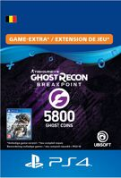 Ghost Recon Breakpoint 4800 (+1000) Ghost Coins - PlayStation Network (België) product image