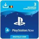 Playstation Now 3 mnd - PlayStation Network Kaart (België) product image