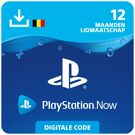 Playstation Now 12 mnd - PlayStation Network Kaart (België) product image