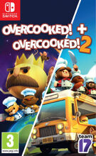 Overcooked Double Pack - Overcooked 1 & Overcooked 2 product image