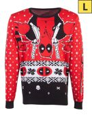 Kerst Trui Large - Deadpool - Difuzed product image