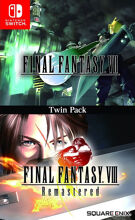 Final Fantasy VII & Final Fantasy VIII Remastered Twin Pack product image