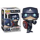 Marvel's Avengers - Captain America Stark Tech Suit - Pop! Figurine product image